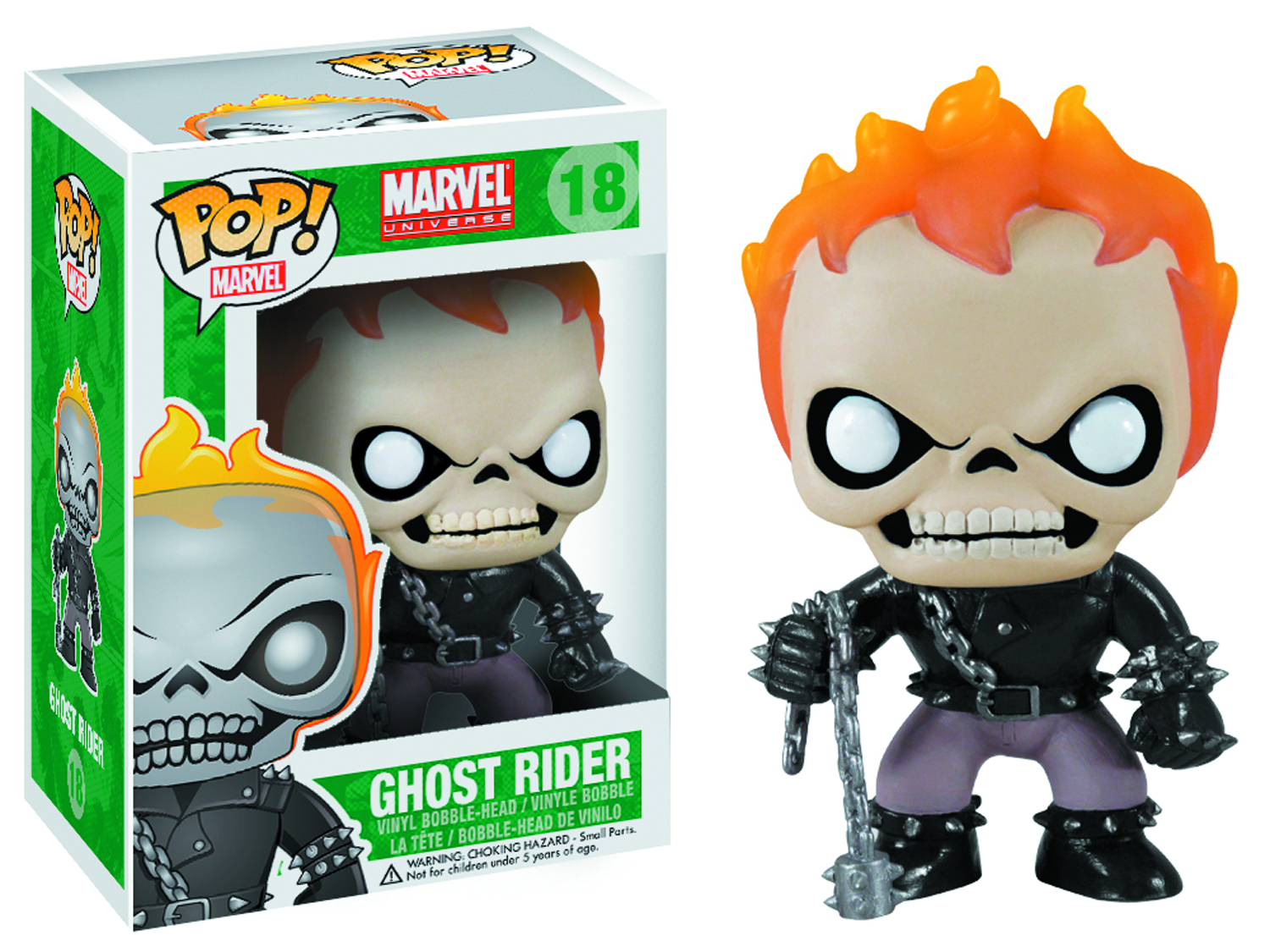 POP MARVEL GHOST RIDER VINYL FIG