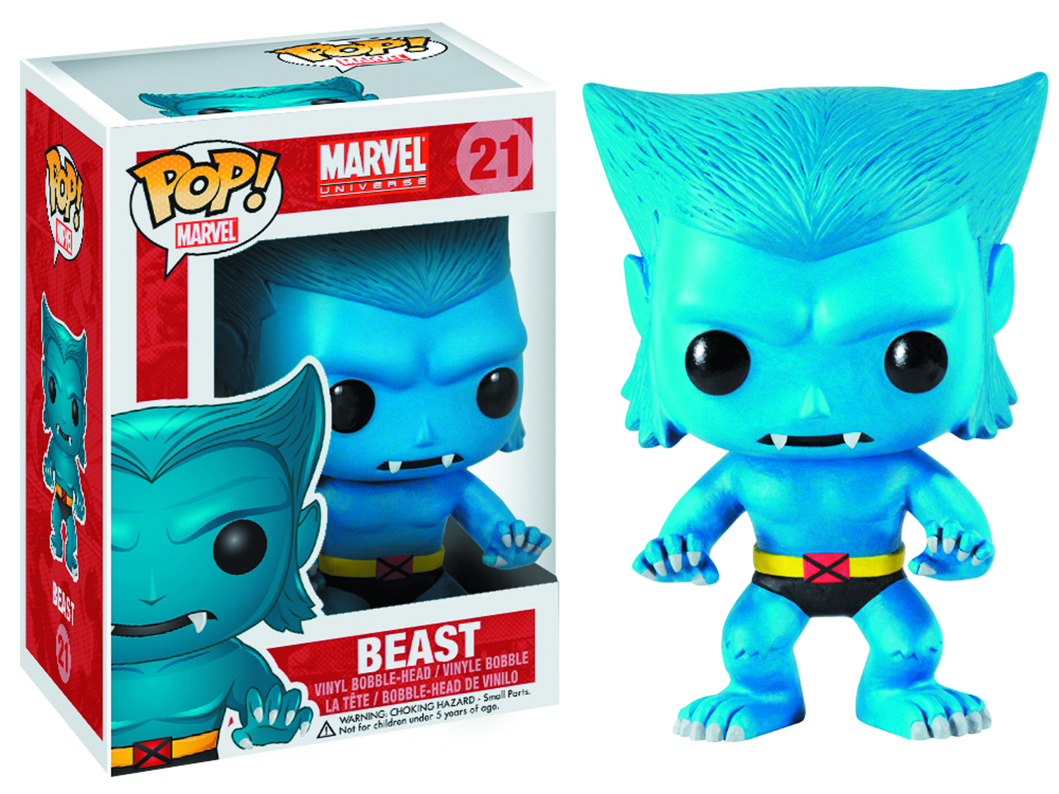 POP MARVEL BEAST VINYL FIG