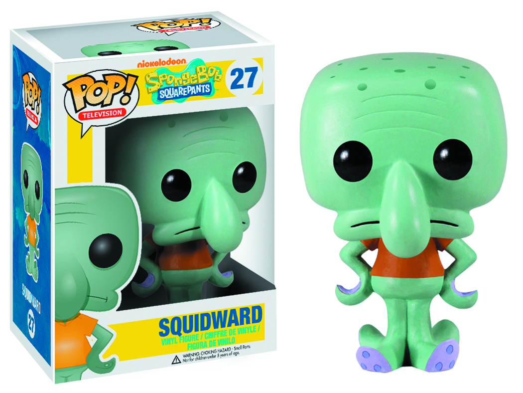 POP SPONGEBOB SQUIDWARD VINYL FIG
