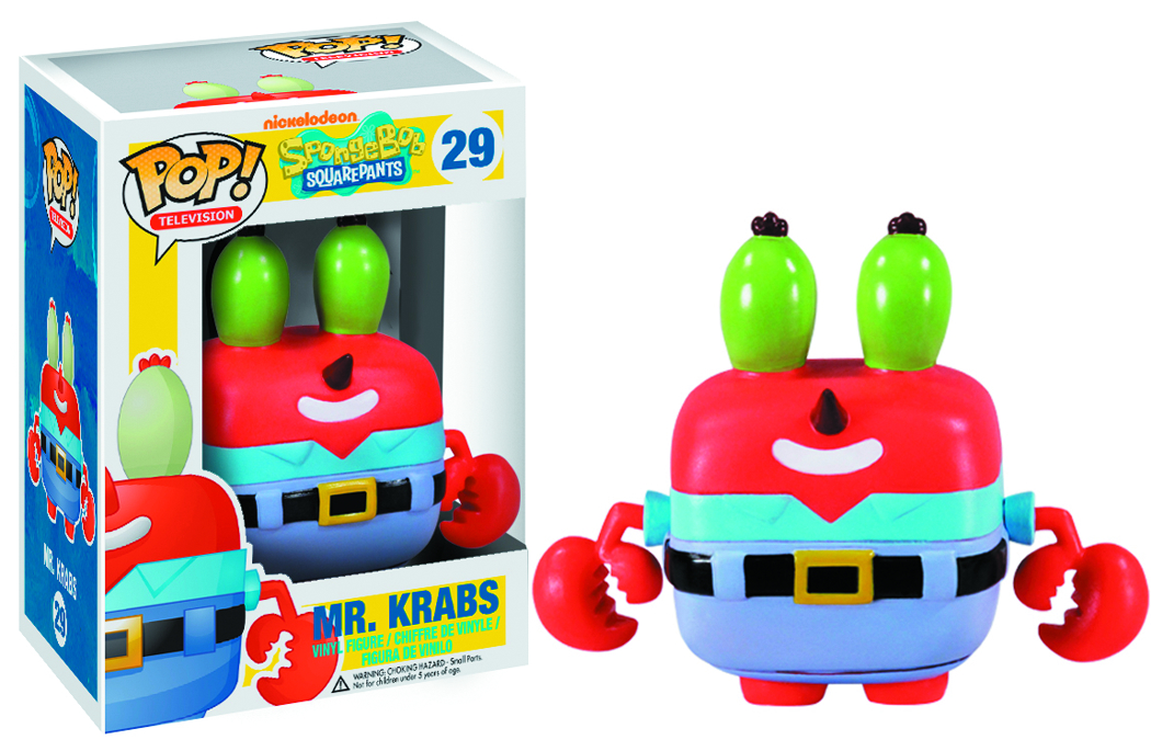 POP SPONGEBOB MR KRABS VINYL FIG