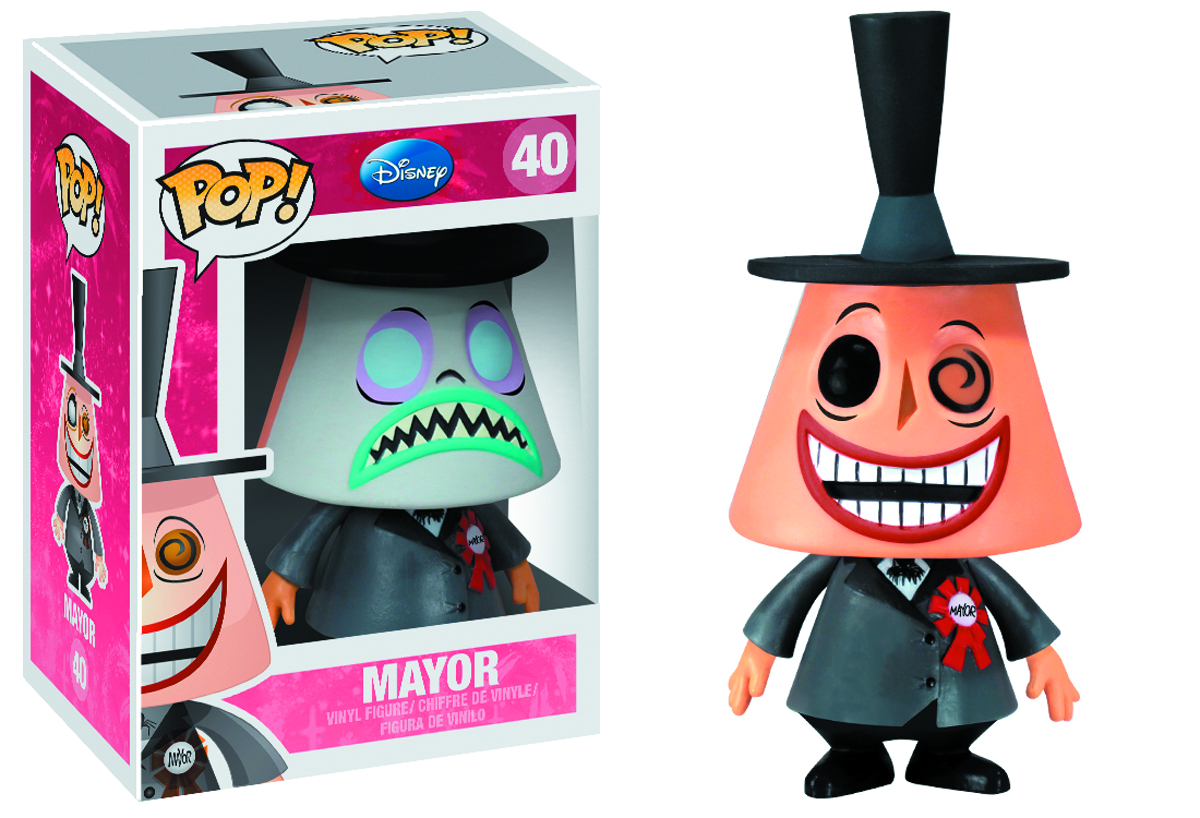 POP DISNEY MAYOR VINYL FIG