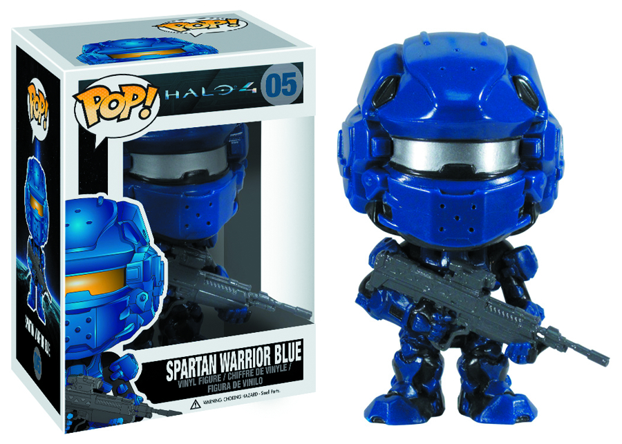 POP HALO 4 BLUE SPARTAN VINYL FIG