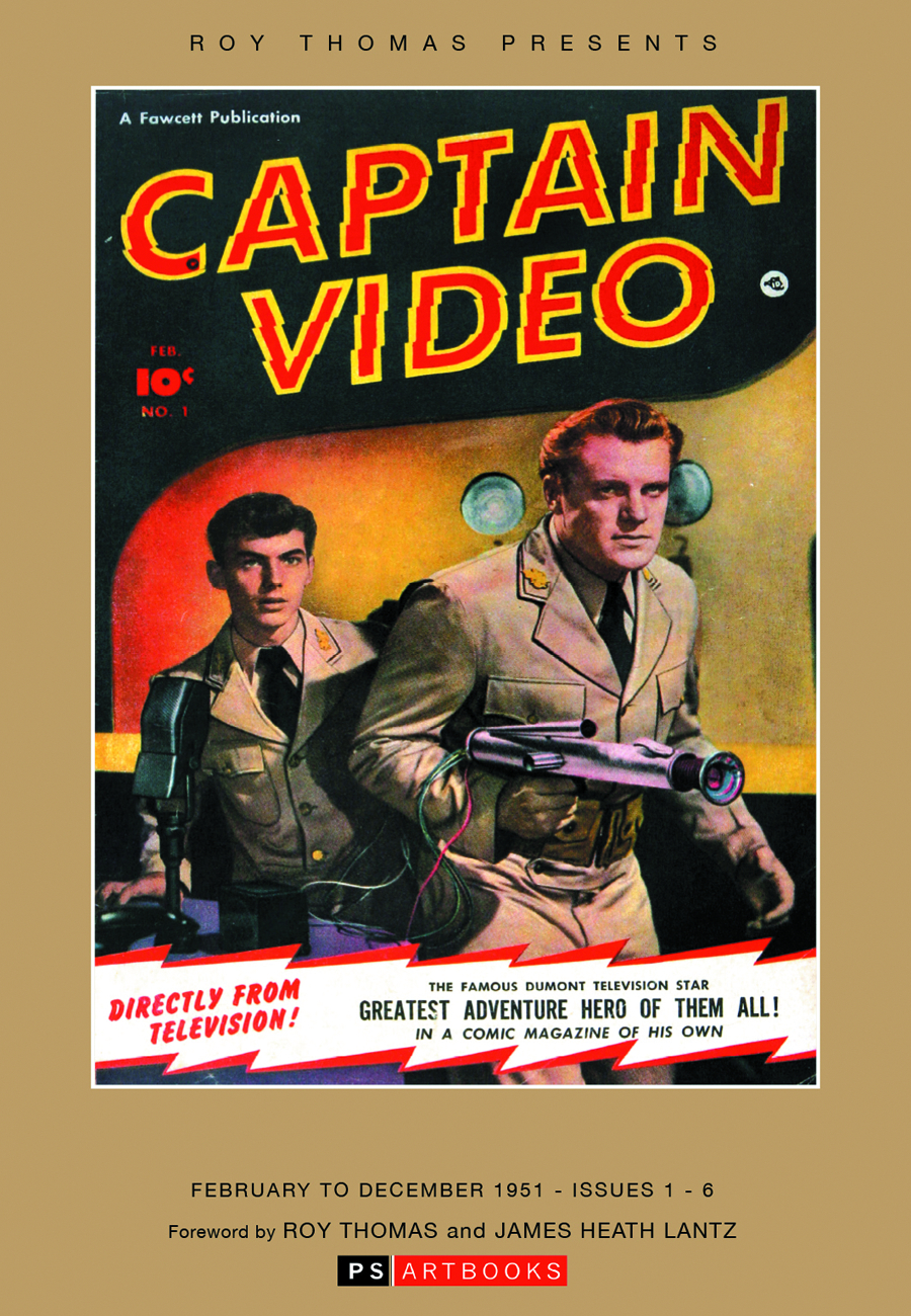 ROY THOMAS PRESENTS CAPTAIN VIDEO HC VOL 01
