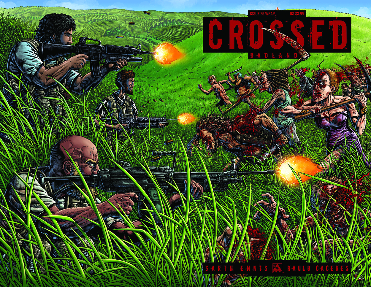 CROSSED BADLANDS #25 WRAP CVR (MR)