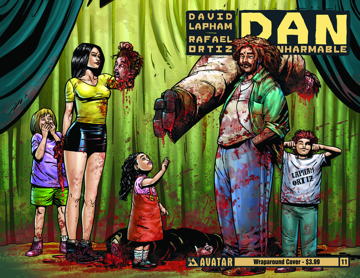DAN THE UNHARMABLE #11 WRAP CVR