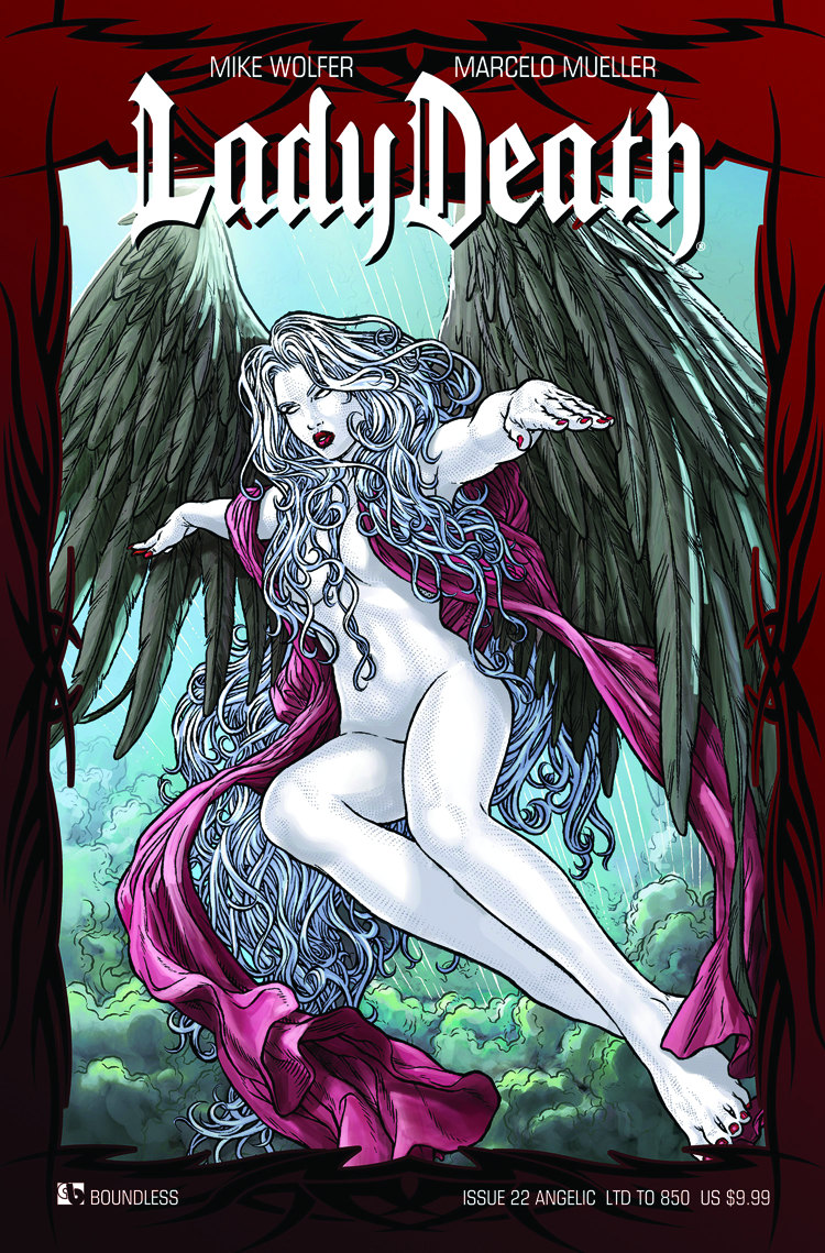 LADY DEATH (ONGOING) #22 ANGELIC CVR (RES)