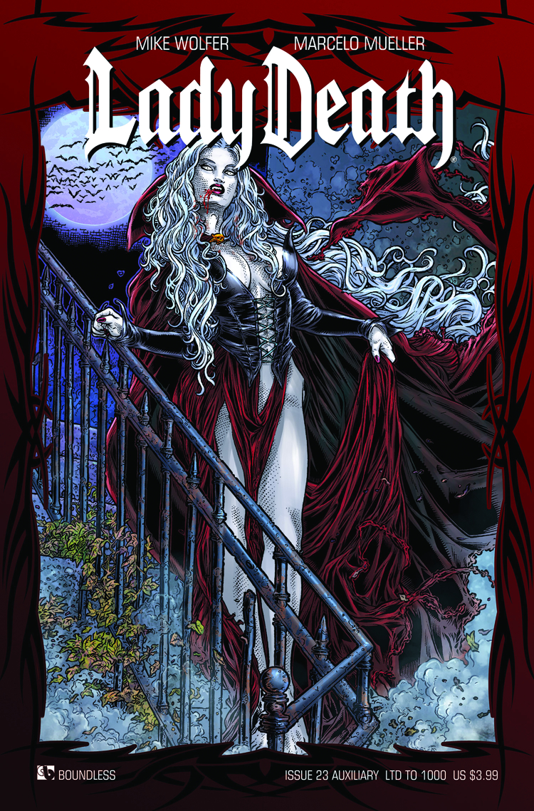 LADY DEATH (ONGOING) #23 AUXILIARY CVR (RES)