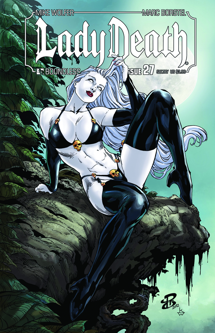 LADY DEATH (ONGOING) #27 SULTRY CVR