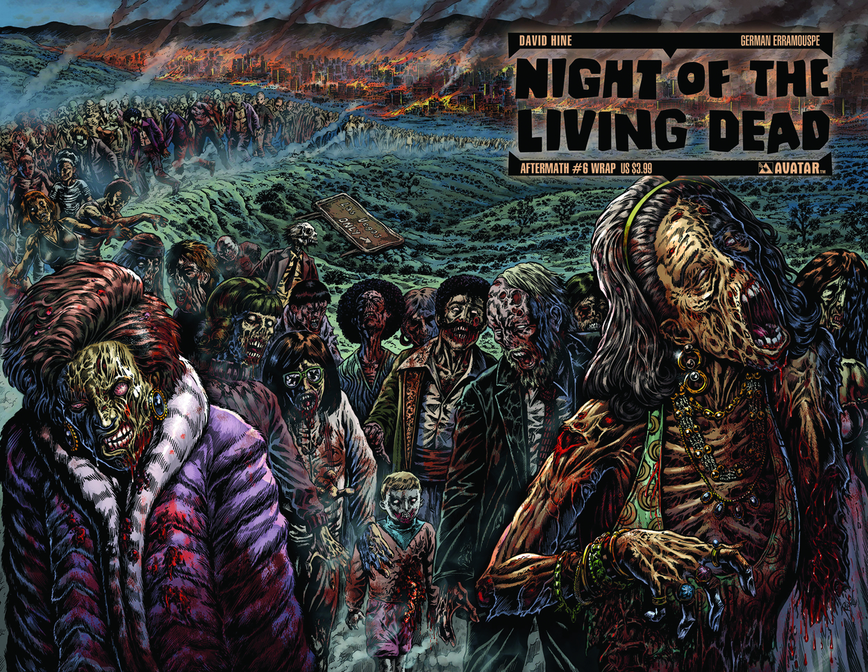 NIGHT O/T LIVING DEAD AFTERMATH #6 WRAP CVR