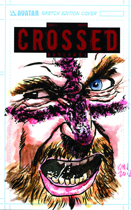 CROSSED BADLANDS #25 DLX COLL BOX SET