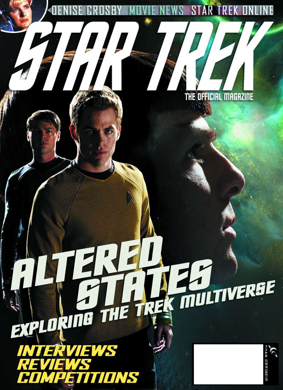 STAR TREK MAGAZINE #44 NEWSSTAND ED