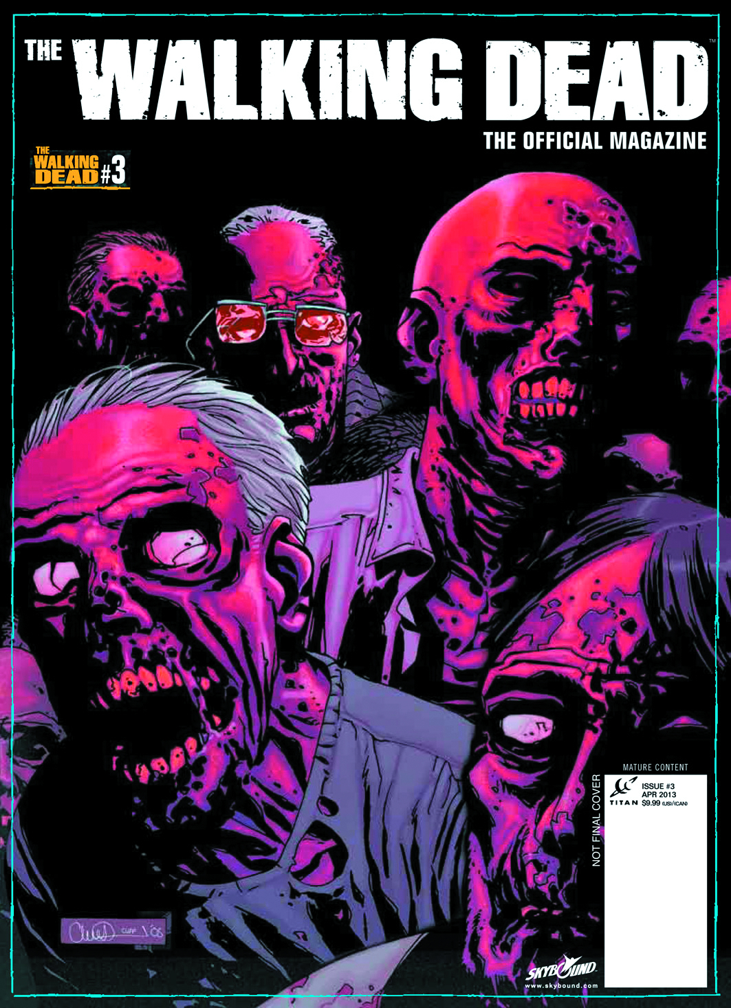 WALKING DEAD MAGAZINE #3 PX ED