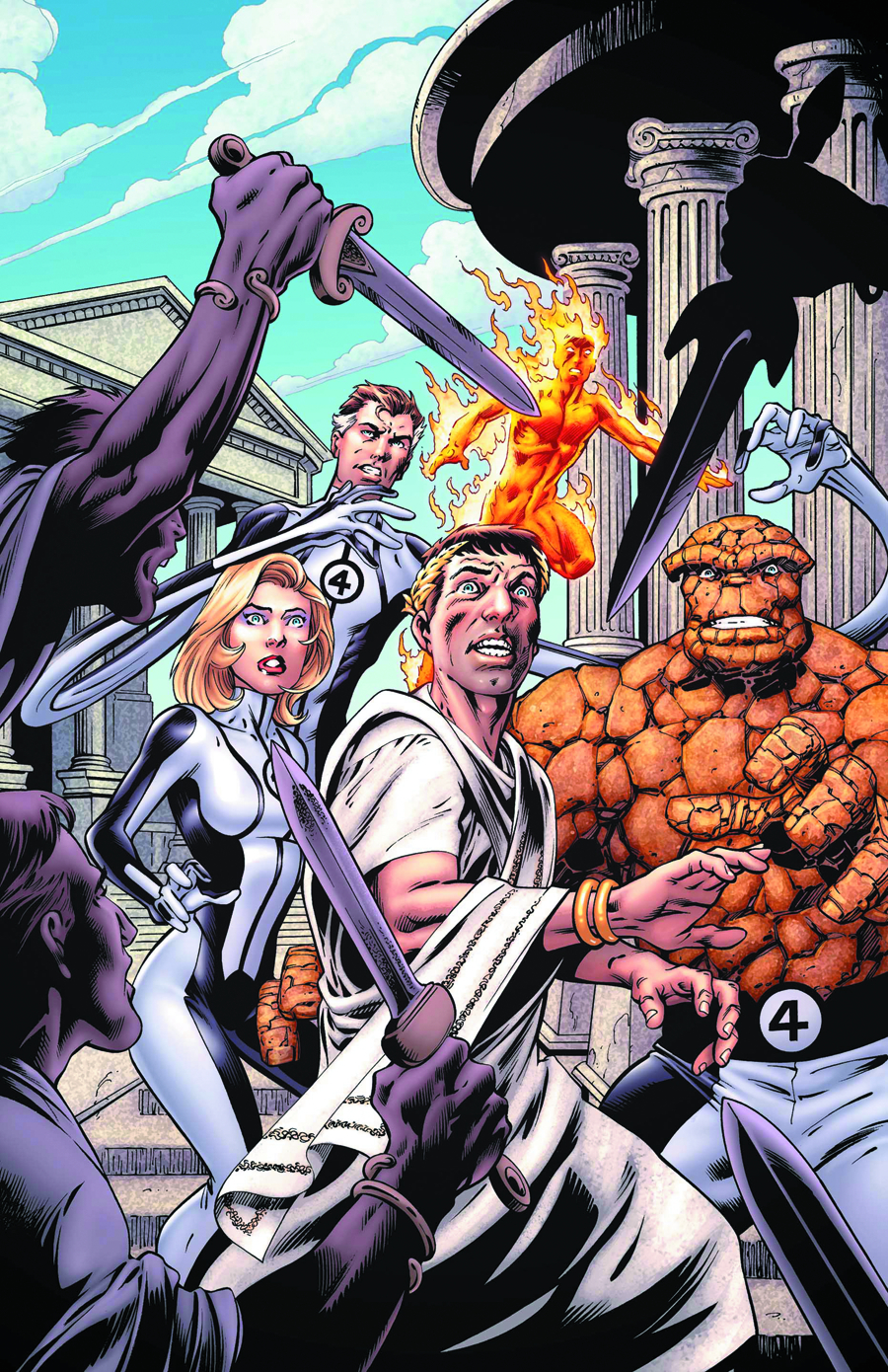 FANTASTIC FOUR #5 NOW