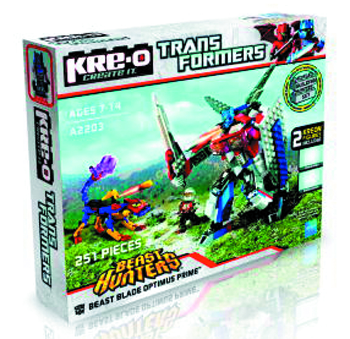 KRE-O TRANSFORMERS OPTIMUS VS BEAST SET