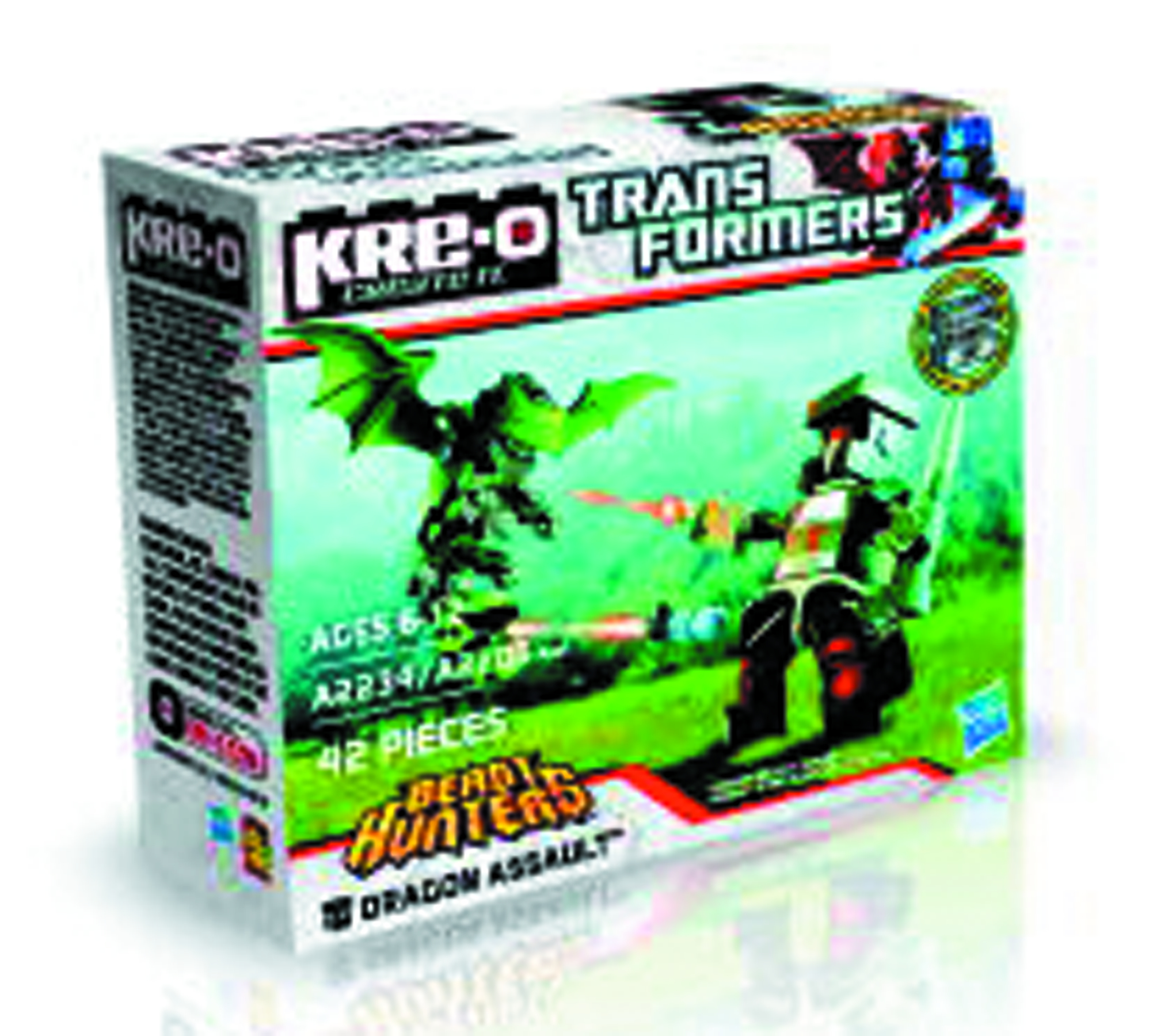 KRE-O TRANSFORMERS BEAST HUNTER FIG PK ASST