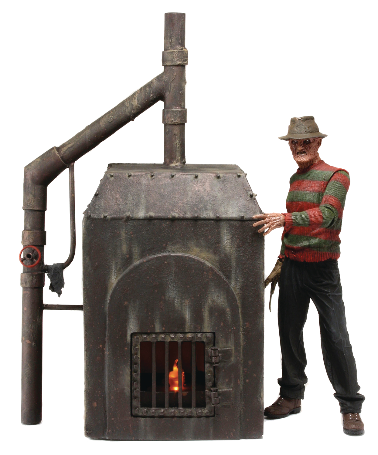 NIGHTMARE ON ELM ST FREDDY FURNACE DIORAMA (O/A)