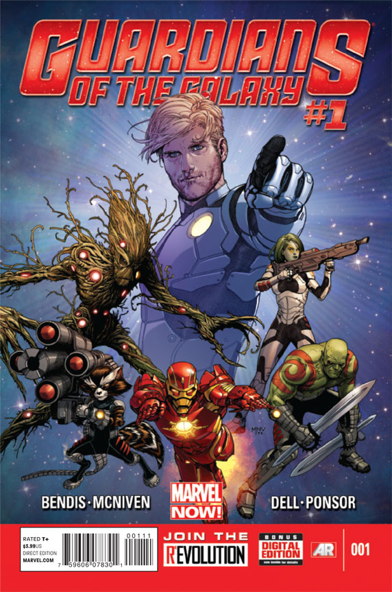GUARDIANS OF GALAXY #1 NOW