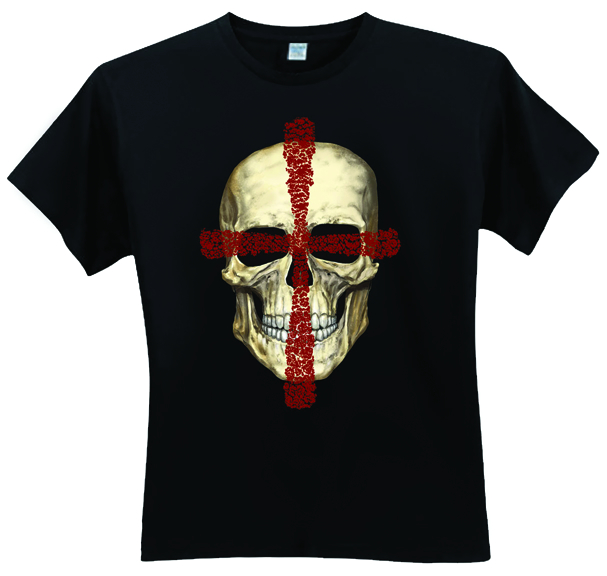 CROSSED SKULL T/S MED