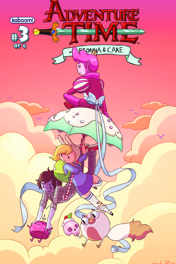 ADVENTURE TIME FIONNA & CAKE #3
