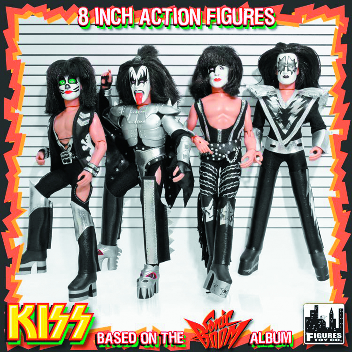 KISS 12-IN RETRO AF SERIES 3 ASST SONIC BOOM