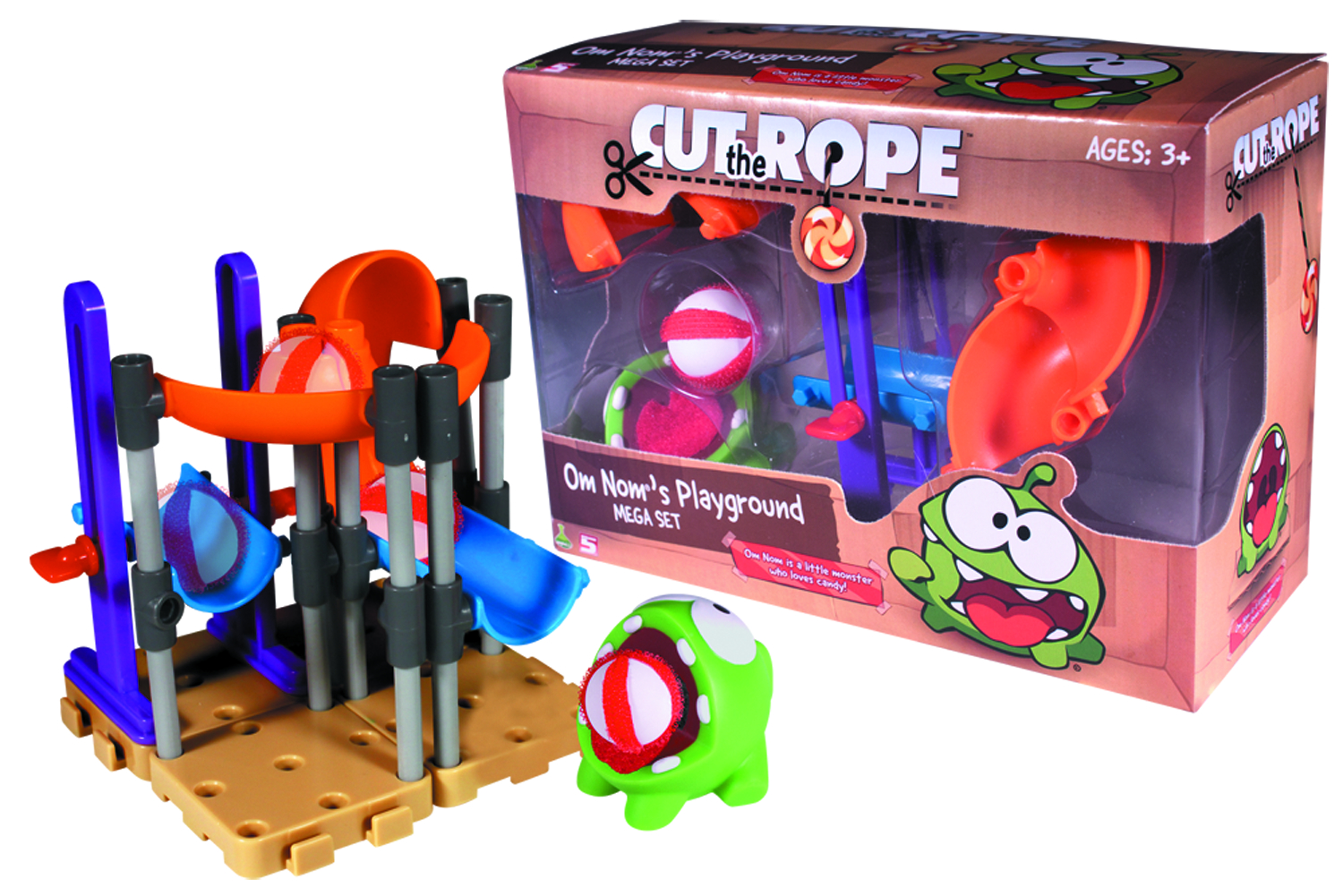 CUT THE ROPE OM NOM PLAYGROUND MEGA SET CS