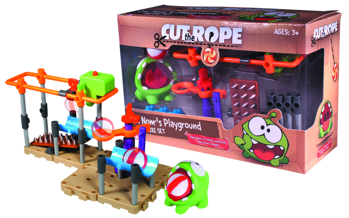 CUT THE ROPE OM NOM PLAYGROUND DLX SET CS