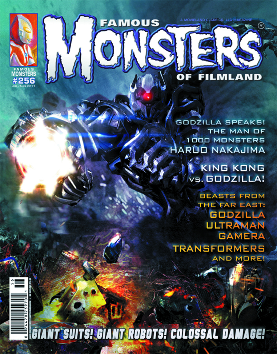 FAMOUS MONSTERS OF FILMLAND #256 TRANSFORMERS COVER