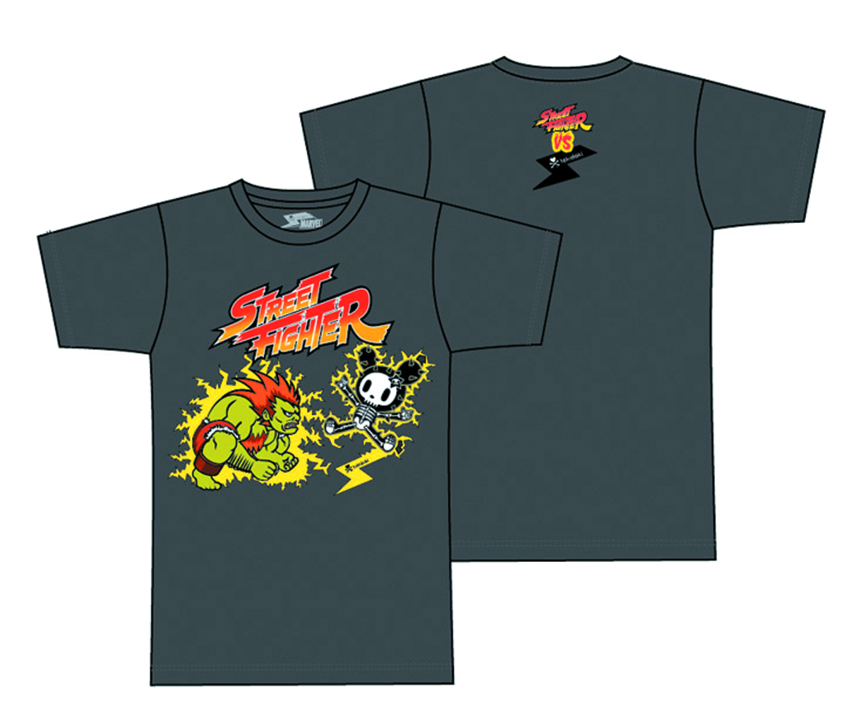STREET FIGHTER X TOKIDOKI BLANKA T/S XL