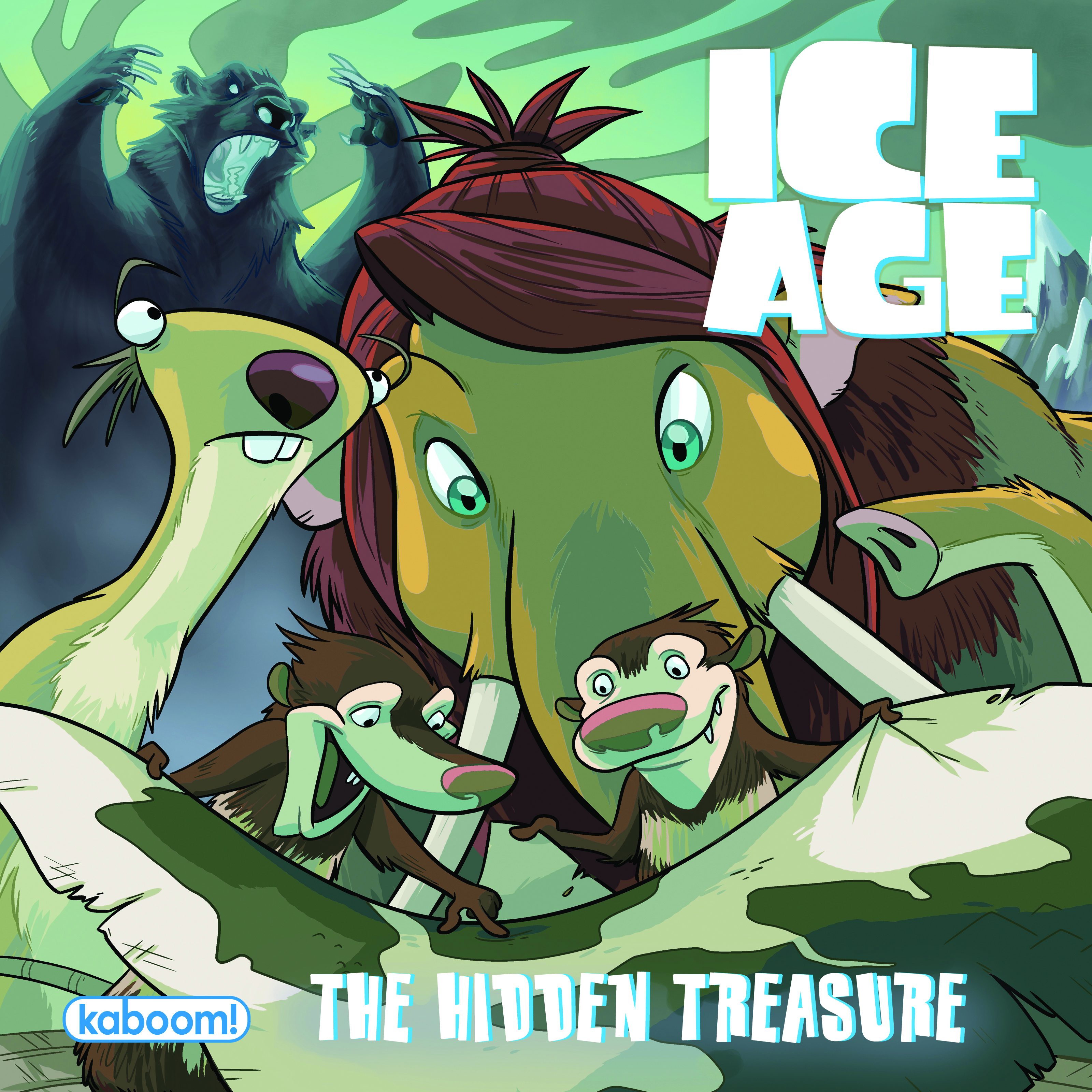 ICE AGE THE HIDDEN TREASURE ONE SHOT