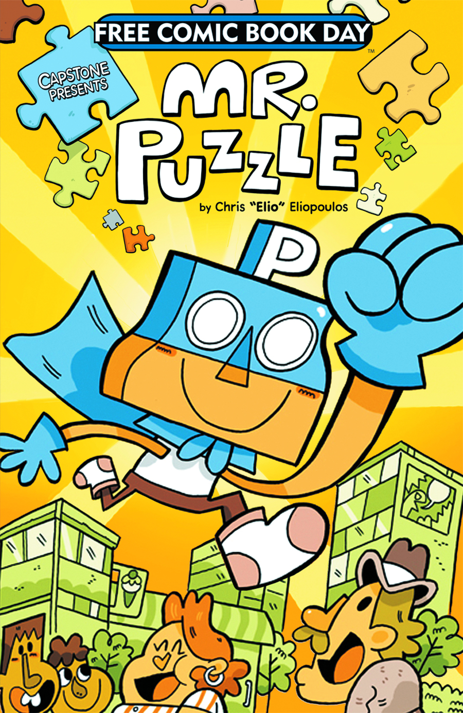 FCBD 2013 CAPSTONE PRESENTS MR PUZZLE