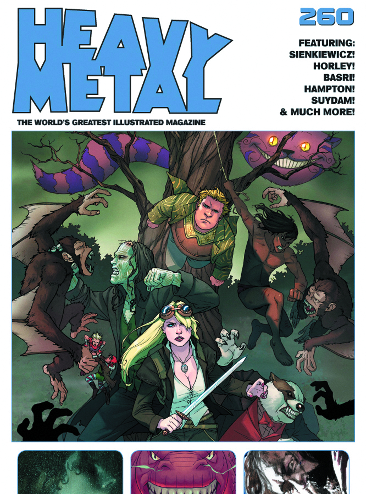 HEAVY METAL #260