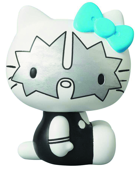 KISS X HELLO KITTY THE SPACEMAN VCD