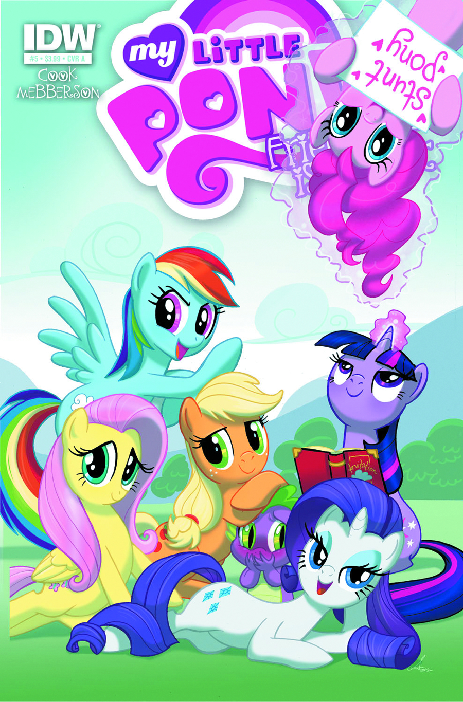 MY LITTLE PONY FRIENDSHIP IS MAGIC #5