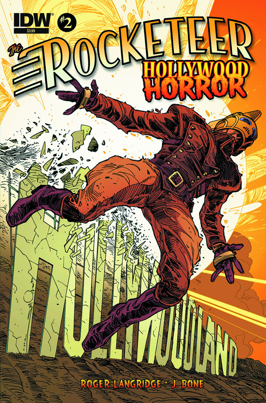ROCKETEER HOLLYWOOD HORROR #2