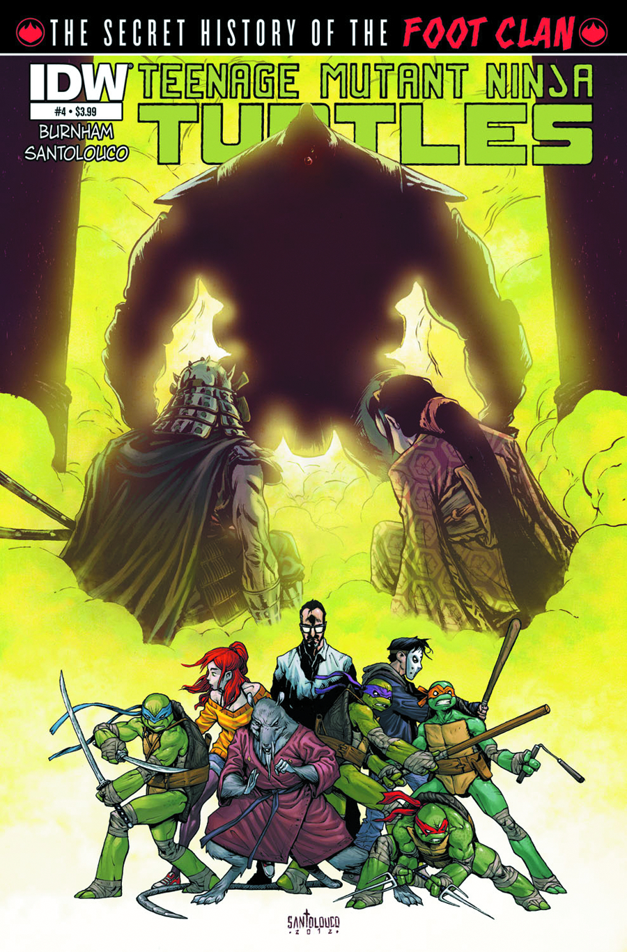 TMNT SECRET FOOT CLAN #4