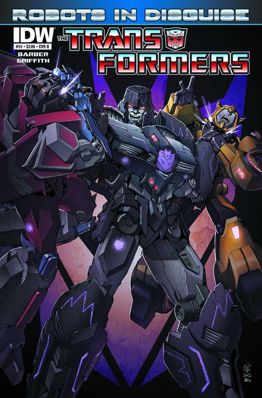 TRANSFORMERS ROBOTS IN DISGUISE #15