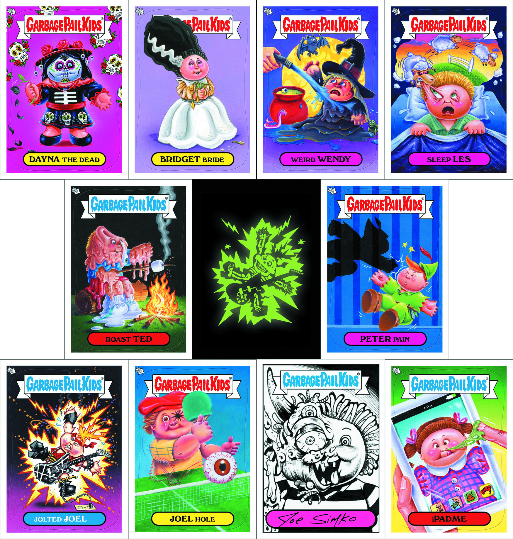GARBAGE PAIL KIDS SERIES 2 T/C BOX