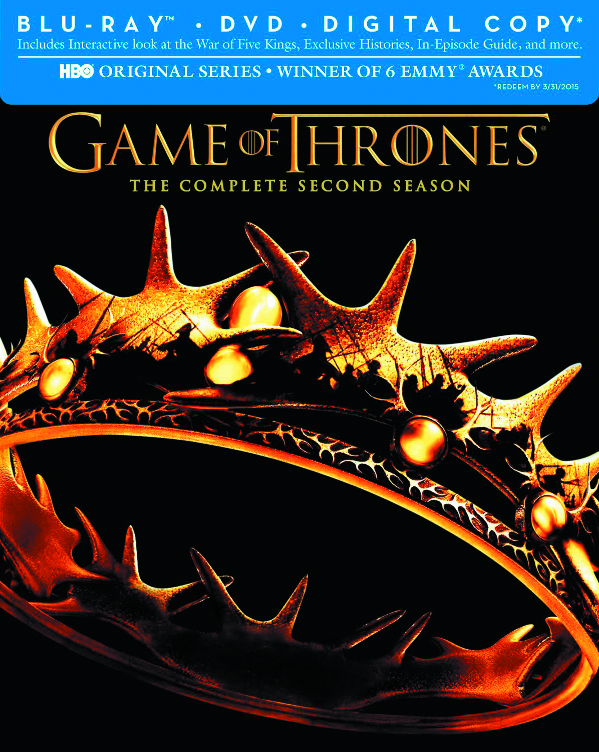 GAME OF THRONES BD + DVD SEA 02