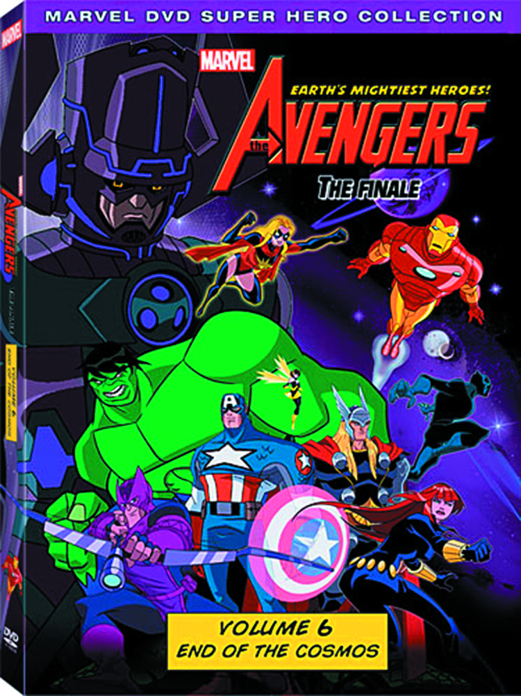 AVENGERS EARTHS MIGHTIEST HEROES DVD VOL 01