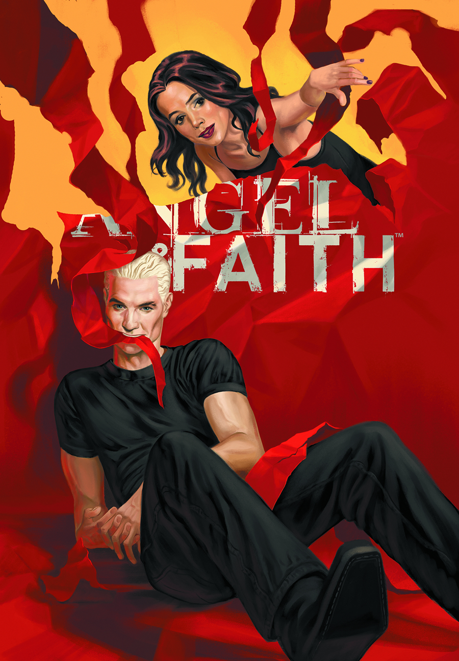 ANGEL & FAITH #20 STEVE MORRIS CVR