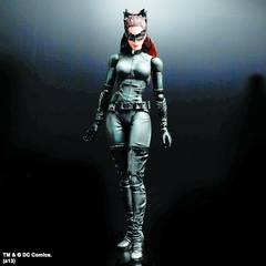 DARK KNIGHT TRILOGY PLAY ARTS KAI CATWOMAN AF