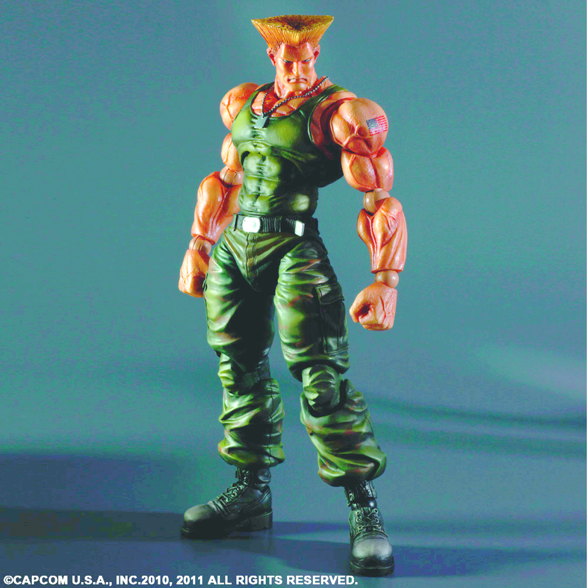 SUPER STREET FIGHTER IV PLAY ARTS KAI GUILE AF