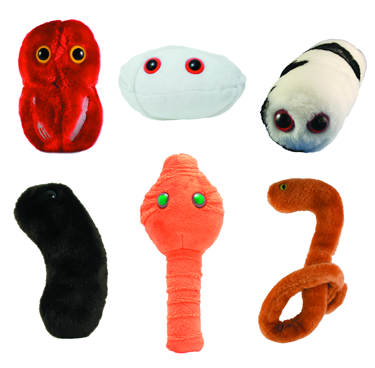 GIANT MICROBES CALAMITIES 24-PC PLUSH ASST