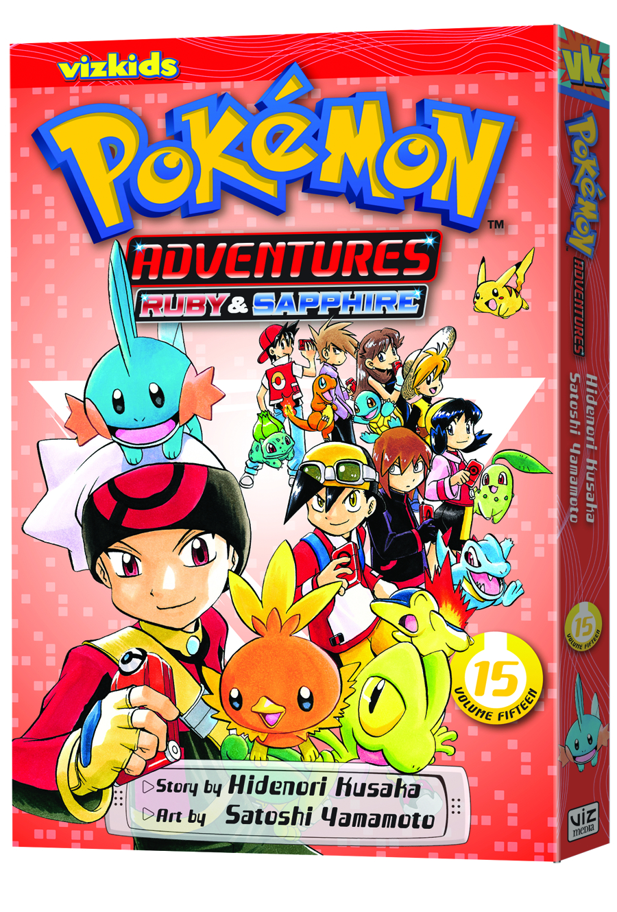 POKEMON ADVENTURES GN VOL 15 RUBY SAPPHIRE