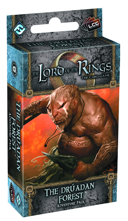 LORD RINGS LCG THE DRUADAN FOREST