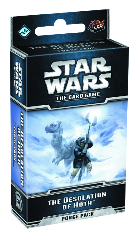 STAR WARS LCG DESOLATION OF HOTH FORCE PACK