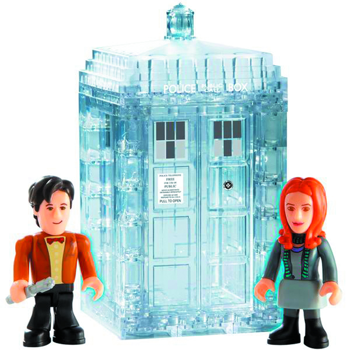 DOCTOR WHO CHAR BUILDING TARDIS DEMAT SET