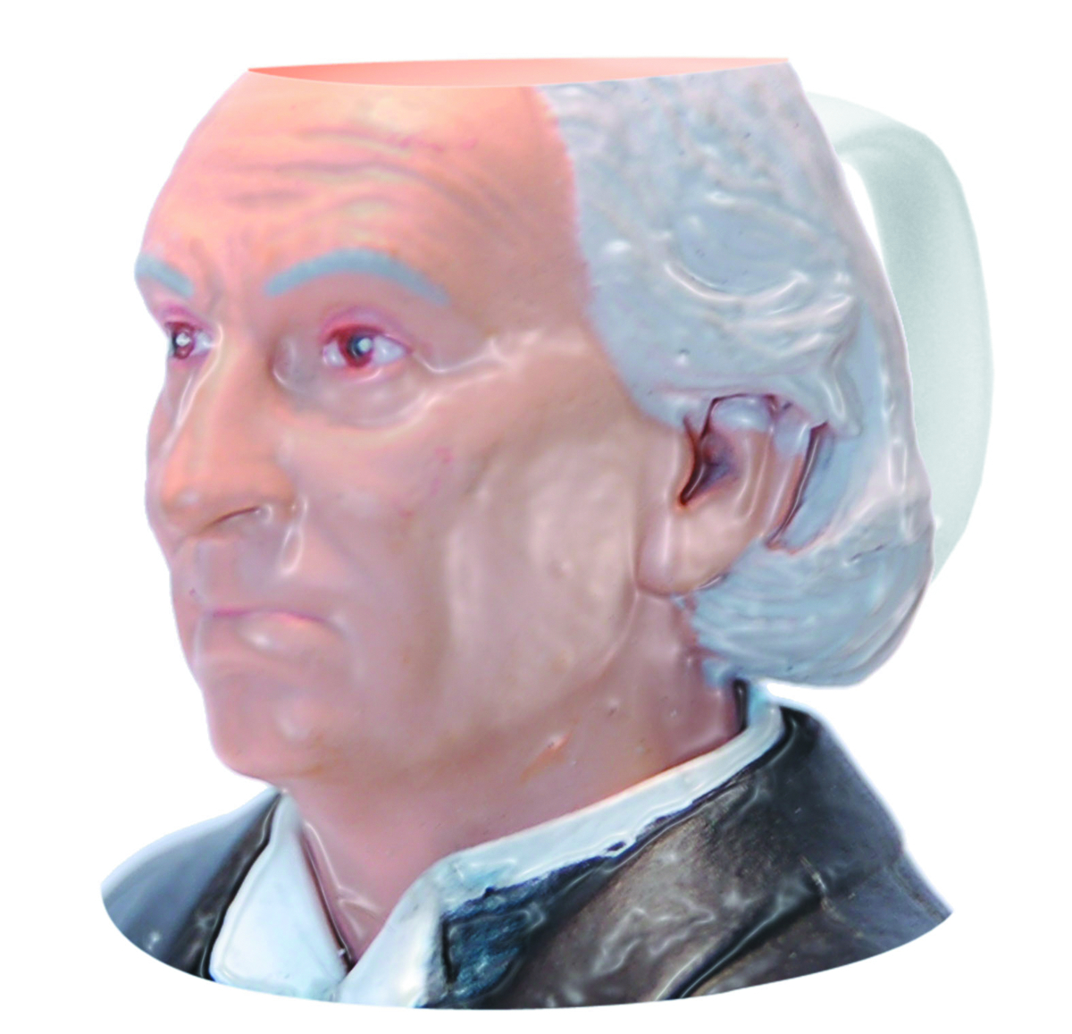 DOCTOR WHO 1ST DOCTOR FIGURAL MUG
