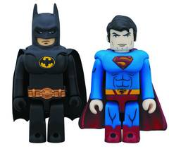DC HEROES BATMAN & SUPERMAN KUB 2PK