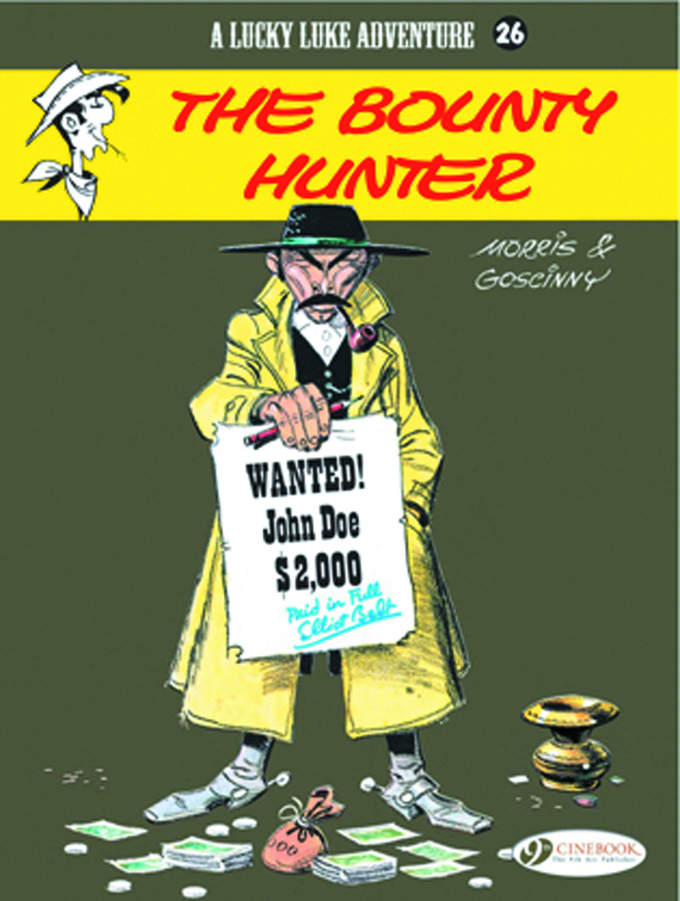 LUCKY LUKE TP VOL 26 BOUNTY HUNTER